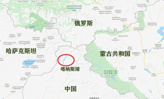 kanas location map