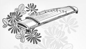 guqin Chinese instrument