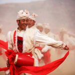 ansai waist drum dance